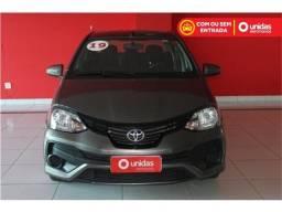 Toyota Etios 1.5 x sedan 16v flex 4p automático - 2019