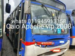 Onibus urbano caio apache vip 2008 e marcopolo viale