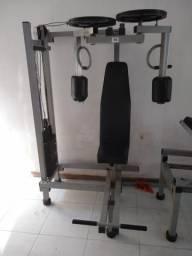 3 equipamentos para academia