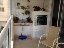 Apartamento com 2 dormitórios à venda, 79 m² por R$ 540.000,00 - Santa Rosa - Niterói/RJ