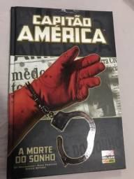 Hq Marvel Capitão América a Morte do sonho