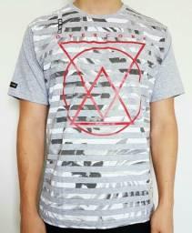 Camiseta Estampada Geométricos