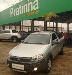 Fiat Strada Working 1.4 Prata - 2014