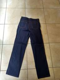 Calça jeans e Jaleco manga curta para uniformes