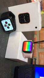 Smartwatch W26 / Preto e Rosa