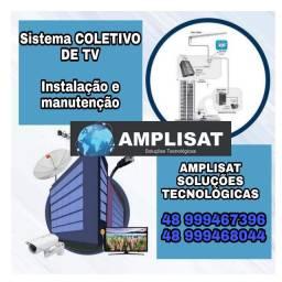 Sistema TV coletiva para hotéis pousadas e condomínio