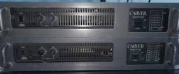 2 amplificadores com muita qualidade e desempenho