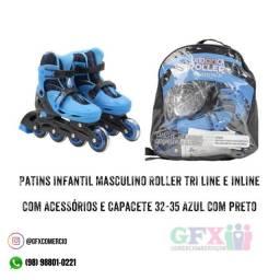 PATINS INFANTIL MASCULINO
