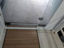 Grade sanfonada para porta de metal