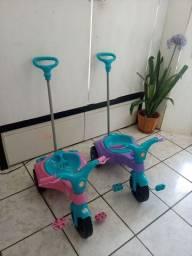 Motoca infantil c\ acessorios CADA