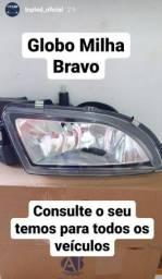 Globo Bravo só na TopLed