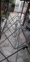Tenda de alumínio 3x6