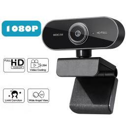 Web cam full hd 1080p câmera USB