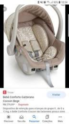 Bebê conforto Galzerano Cocoon Bege