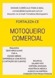 Motoqueiro Comercial