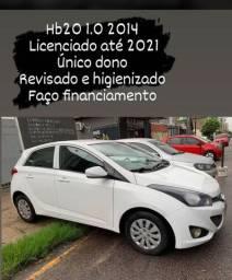 Vendo hb20 (faço financiamento)