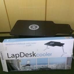 Mesa para Notebook (Lap Desk Cooler)