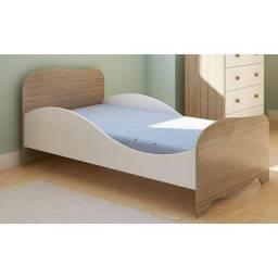 Mini cama Infantil Uli 100% MDF - Peroba Móveis