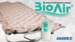 Colchão Pneumático Bioair Completo Salvapé 220V - NOVO