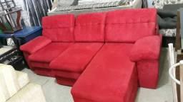 Sofa semi novo retrátil reclinável