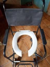 Cadeira de banho máximo 80kg.