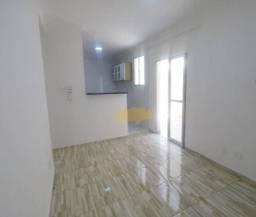 Apartamento com 2 dormitórios e quintal para alugar, 46 m² por R$ 750/mês - Jardim Paulist