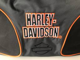 Bolsa mala de mão Duffle Bag Harley Davidson Carry on Biker ORIGINAL!