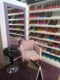 Vendo loja completa de calçados