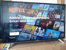 Smart tv tcl 40 polegadas impecável