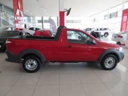 Fiat Strada working 1.4 cs vermelha flex 46028km