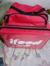 Bag entregador com caixa termica