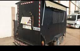Alugo trailer 4mx2m com reboque