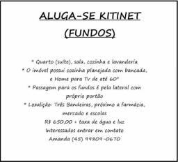 Aluga-se Kitinet Tres Bandeiras