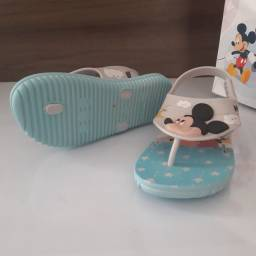 Sandália infantil Mickey n25 (aceito cartão)