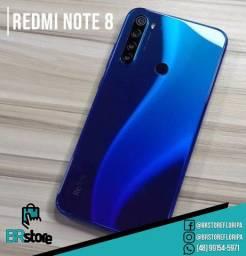 Promoção Smartphone Xiaomi Redmi Note 8 128Gb lacrado (Ac. Cartão)