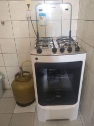 Fogão Consul 4 bocas Branco com acendimento automático - BIVOLT