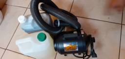 Soprador graça pet 220 vl, Shampoo branqueador 5L +Shampoo pelos escuros 5L