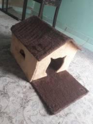 Linda casinha para gatos