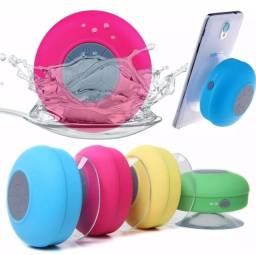 Caixa Som Prova D'agua Bluetooth Musica Chamadas Banho