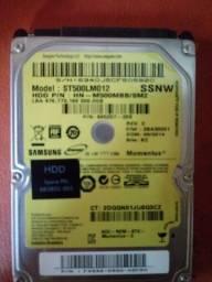 HD 500GB  100% Aceito Cartão tel. *