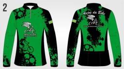 Camisetas personalizadas pescaria,ciclismo com proteçao UV faça ja seu orçamento