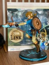 Action figure boneco Link Zelda Breath of the Wild