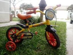 Vendo Bicicleta Caloi Aro 12 R$ 150,00