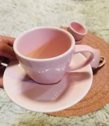 Jogo xícaras para cafezinho