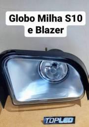 Globo S10 e Blazer só na TopLed