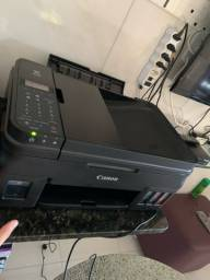 Impressora Multifuncional Canon G4100 Tanque de Tinta - USB - Wi-Fi