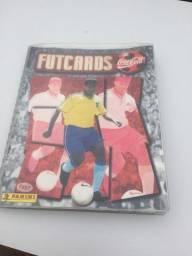 Álbum de Futcards 1997 completo raridade