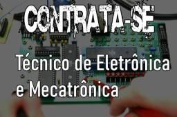 Eletro Diesel 130:Contrata-se Técnico em eletrônica ou mecatrônica