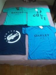 Camisas 100%algodao
