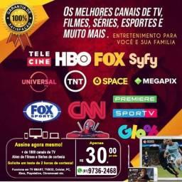 Direto na sua tv smart - só pra João Pessoa
